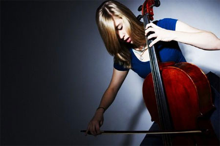 Jess playing Cello